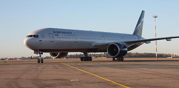 Aeroflot isi extinde flota cu noul avion 777-300 ER