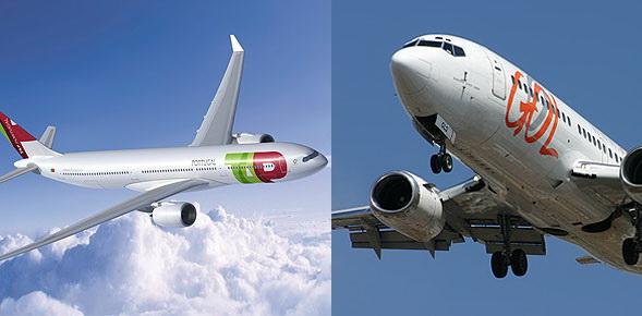 Parteneriat codeshare intre TAP Portugal si operatorul low cost GOL