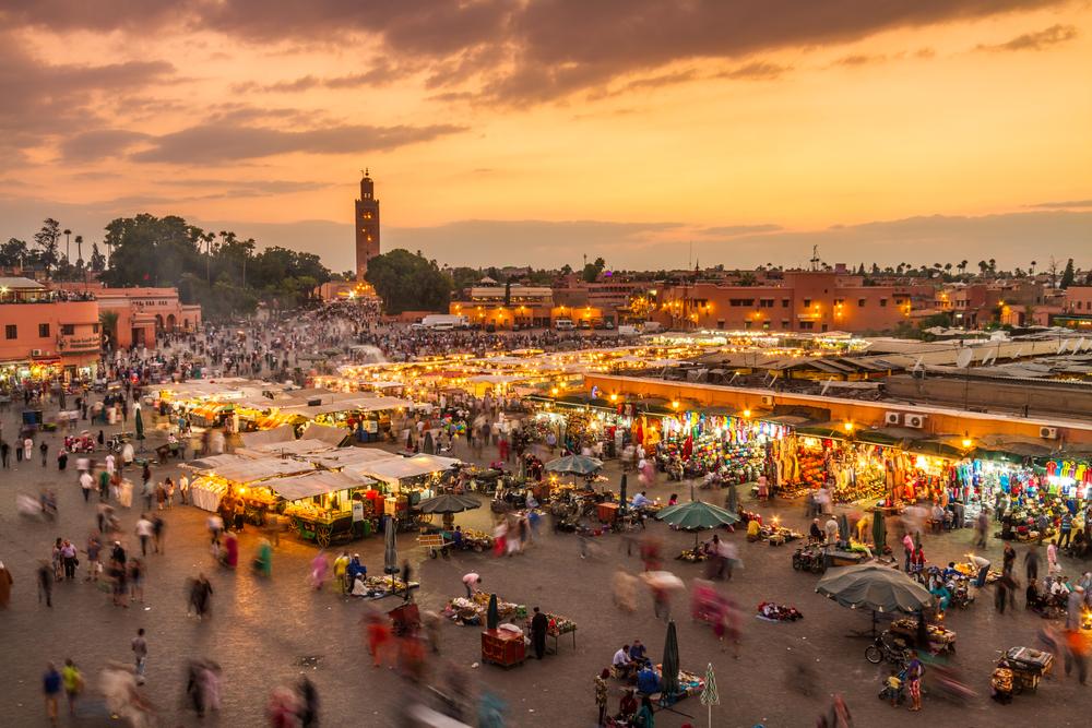Piața Jamaa El Fna